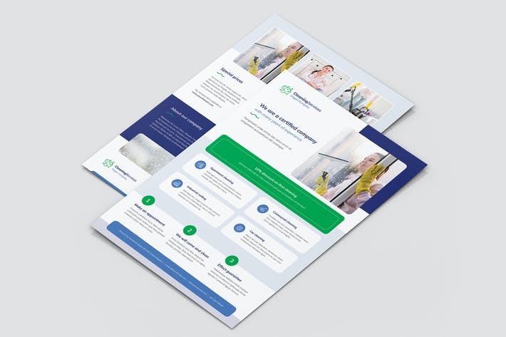 Thumbnail for Flyer – Cleaning Service