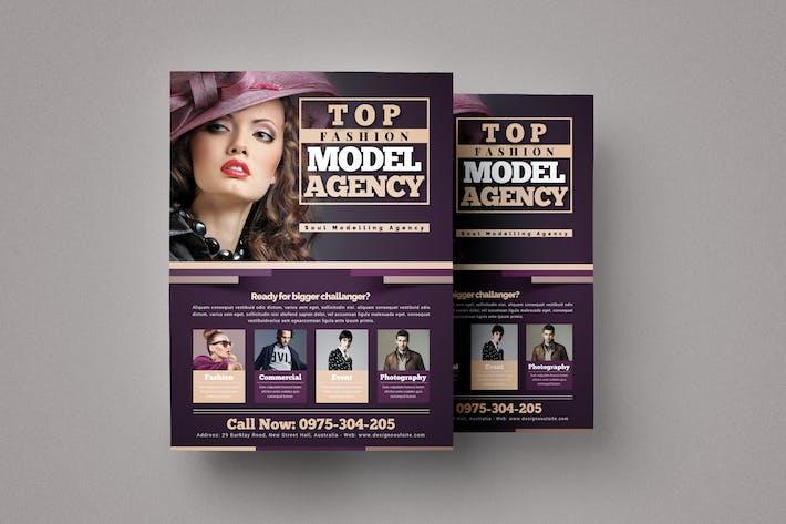 Thumbnail for ModellAgentur Flyer