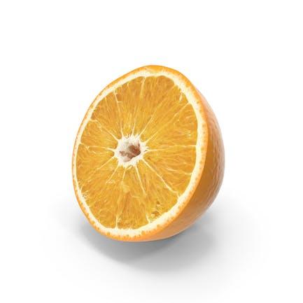 Oranger Halbschnitt