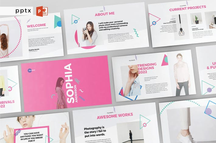 Thumbnail for PERSONAL - Multipurpose Powerpoint  V204