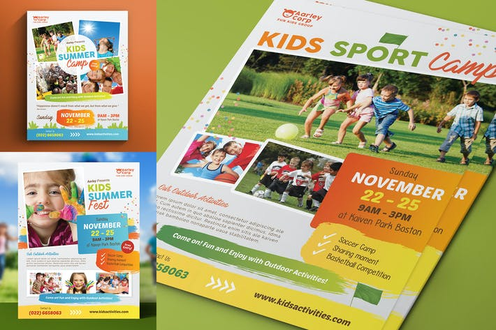 Cover Image For Kids Activities Flyer