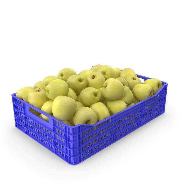 Яблоко Золотой Пластиковый ящик