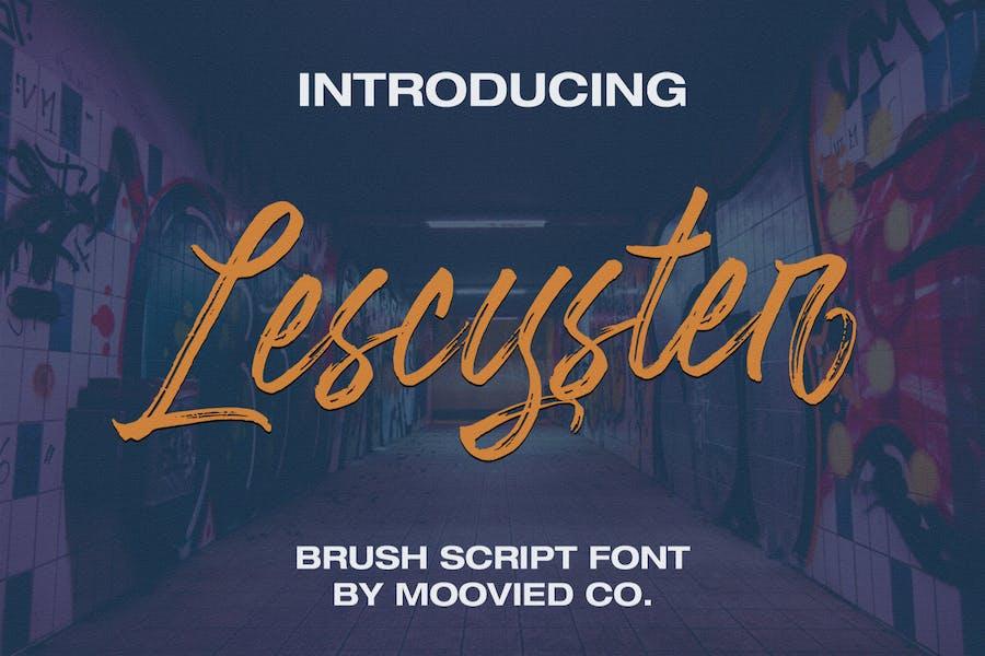 Pincel Lescyster Script