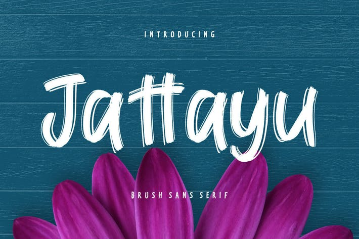 Thumbnail for Jattayu Sans Serif Brush