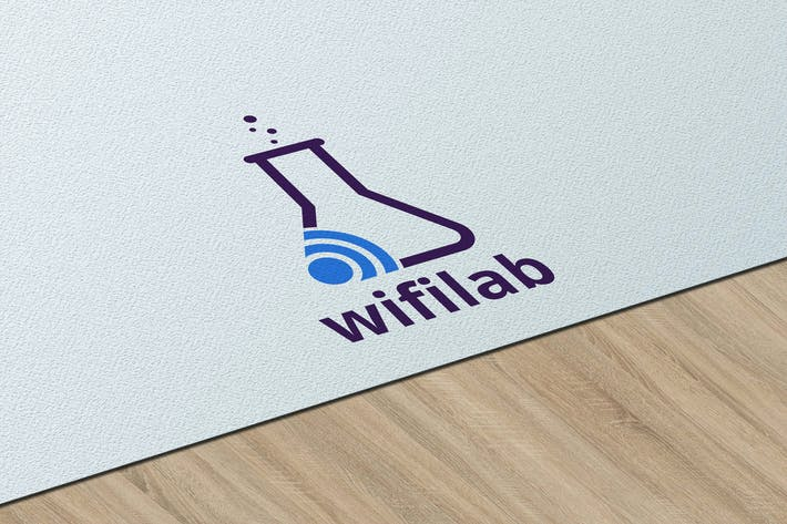 Thumbnail for WifiLab - Creative Logo Template RB