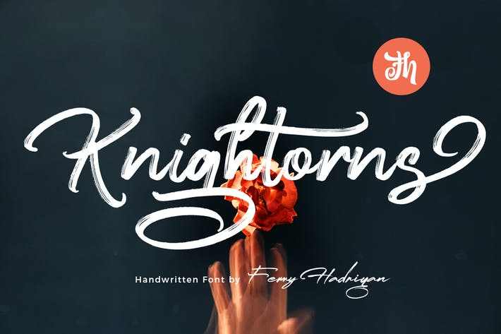 Thumbnail for Knightorns - Handwritten Font