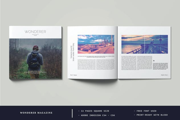 Square Wonderer Magazine