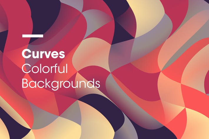 Curves | Colorful Backgrounds