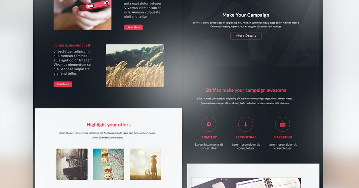 Download Email Newsletter - Melow by Ra-Themes