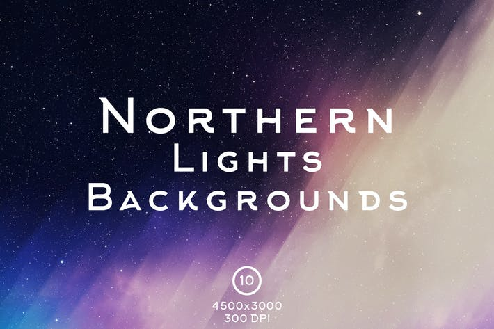 Thumbnail for Northern Lights Backgrounds