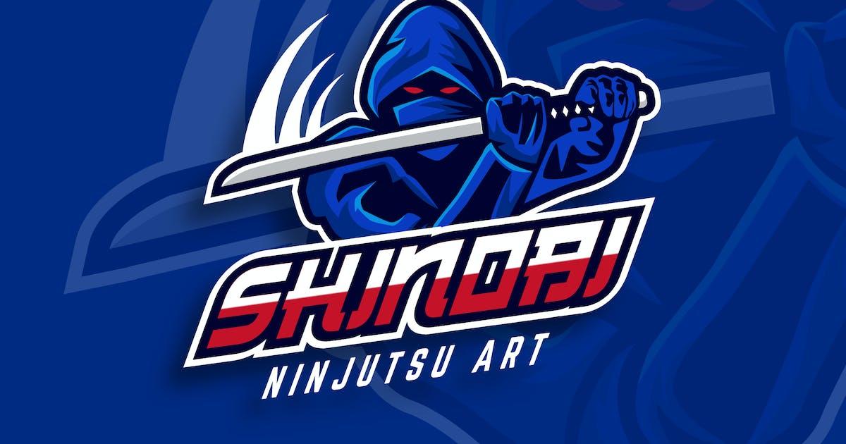Download Ninja Sport And Esport Logo Vector Template by naulicrea