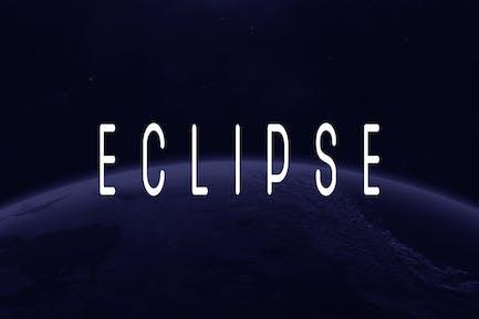 SB ECLIPSE - Unique Display / Logo Typeface
