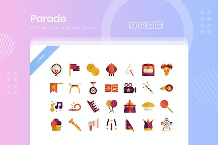 Parade Icon Pack