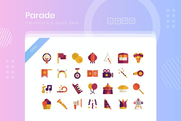 Thumbnail for Parade-Icon-Paket