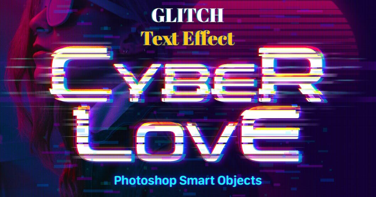 Download Glitch Photoshop Text Effect by weirdeetz