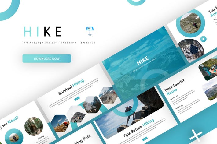 Thumbnail for Hike - Keynote Template