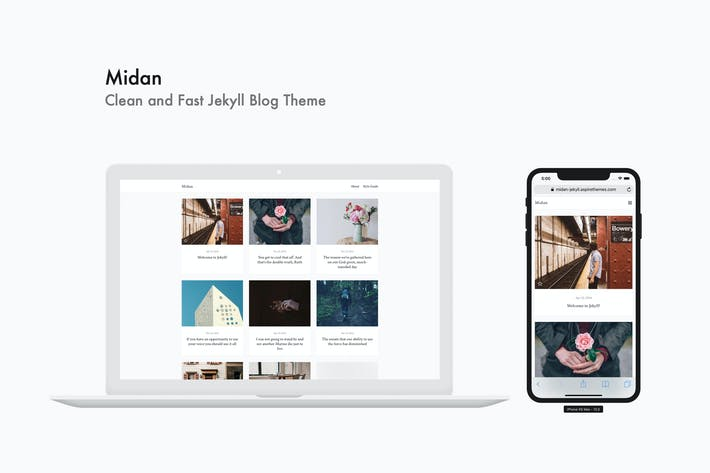 Thumbnail for Midan - Clean and Fast Jekyll Blog Theme