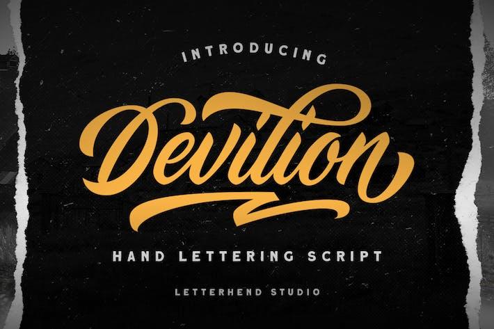 Thumbnail for Devilion - Hand Lettering Script