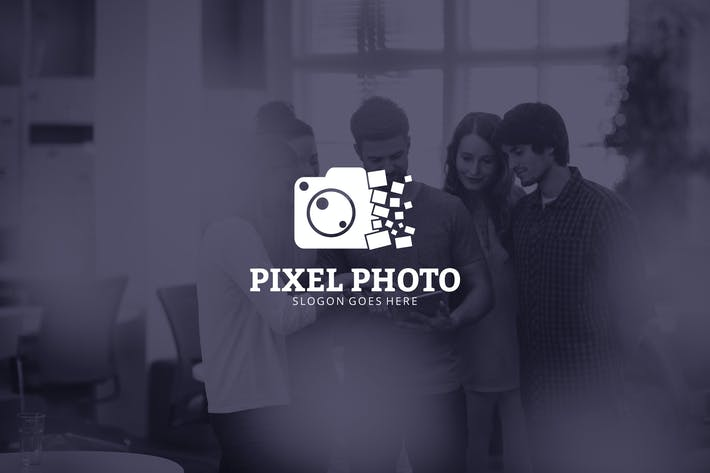 Thumbnail for Photo Pixel Logo