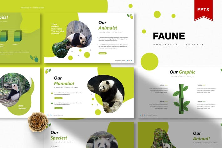 Thumbnail for Faune | Powerpoint Template