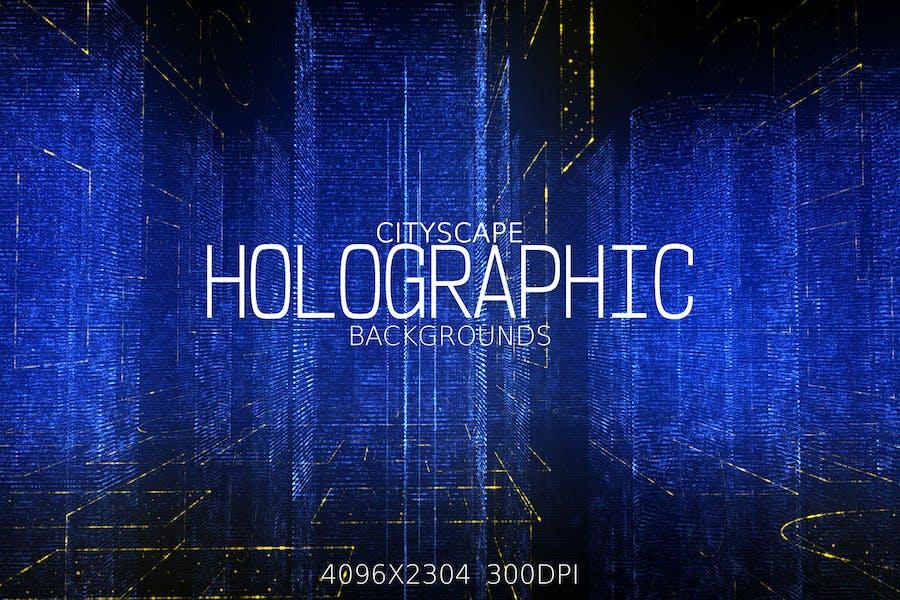 Holographische Hintergründe der Stadt