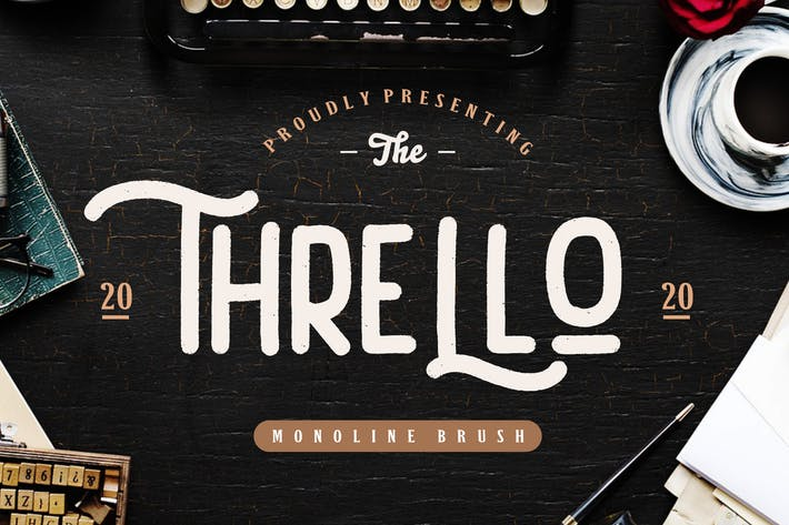 Thumbnail for Thrello Monoline Brush