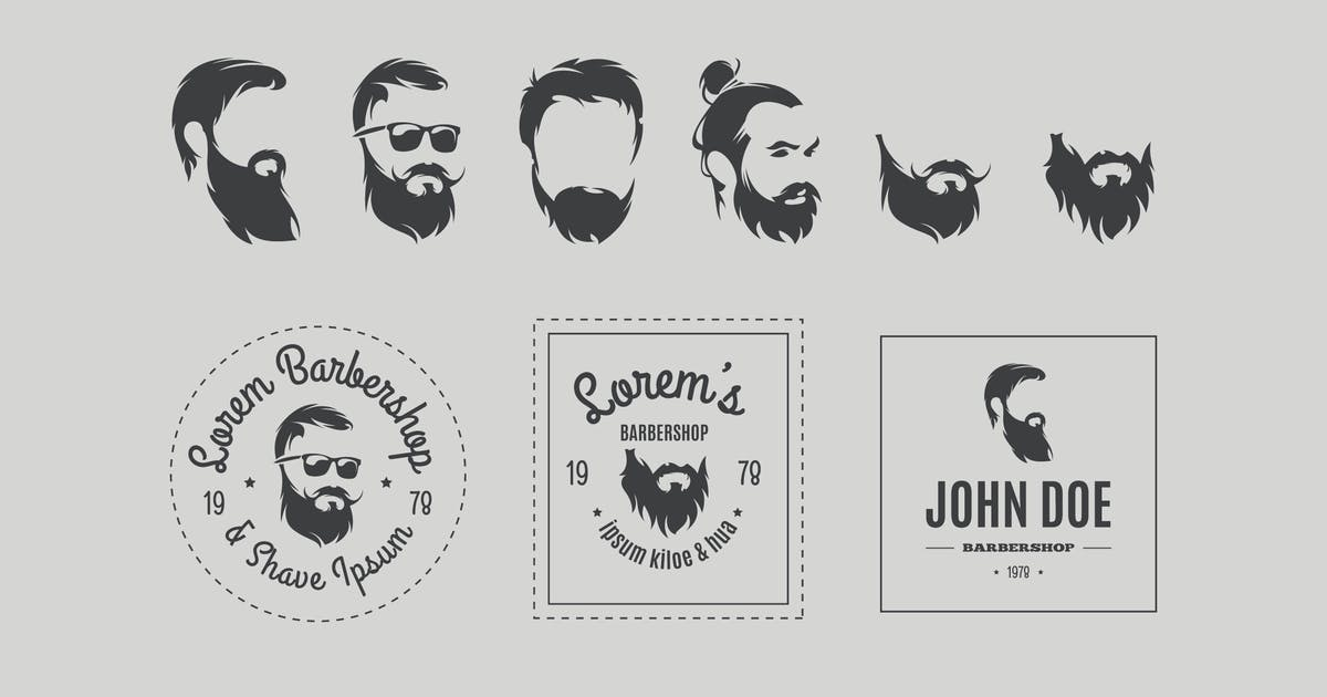 Download Barbershop Vector Icons Set by fet