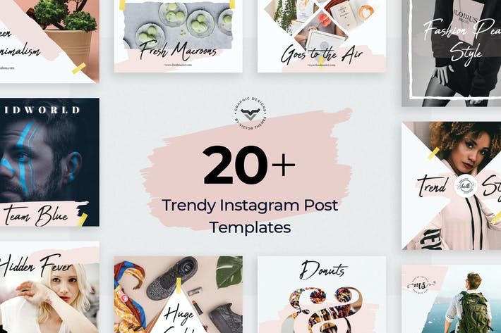 Cover Image For Instagram Post Templates