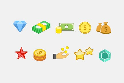10 In-Game Currency Icons