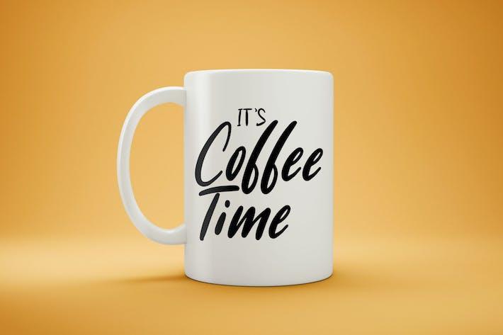 Cover Image For White Coffee Mug Mock-Up