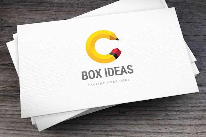Thumbnail for Pencil Letter C Logo Template