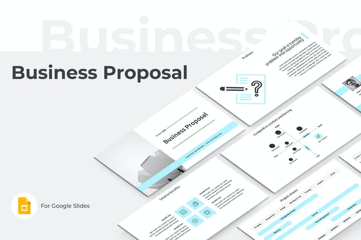 Thumbnail for Business Proposal Google Slides Template