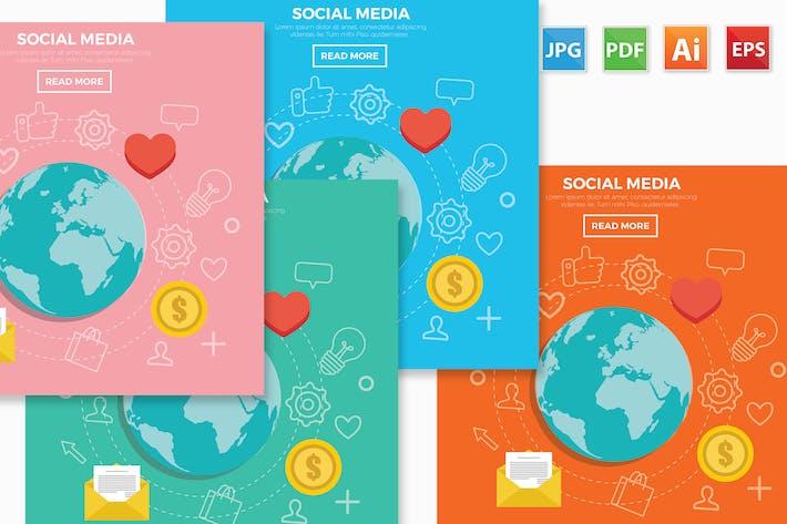 Cover Image For Social media design