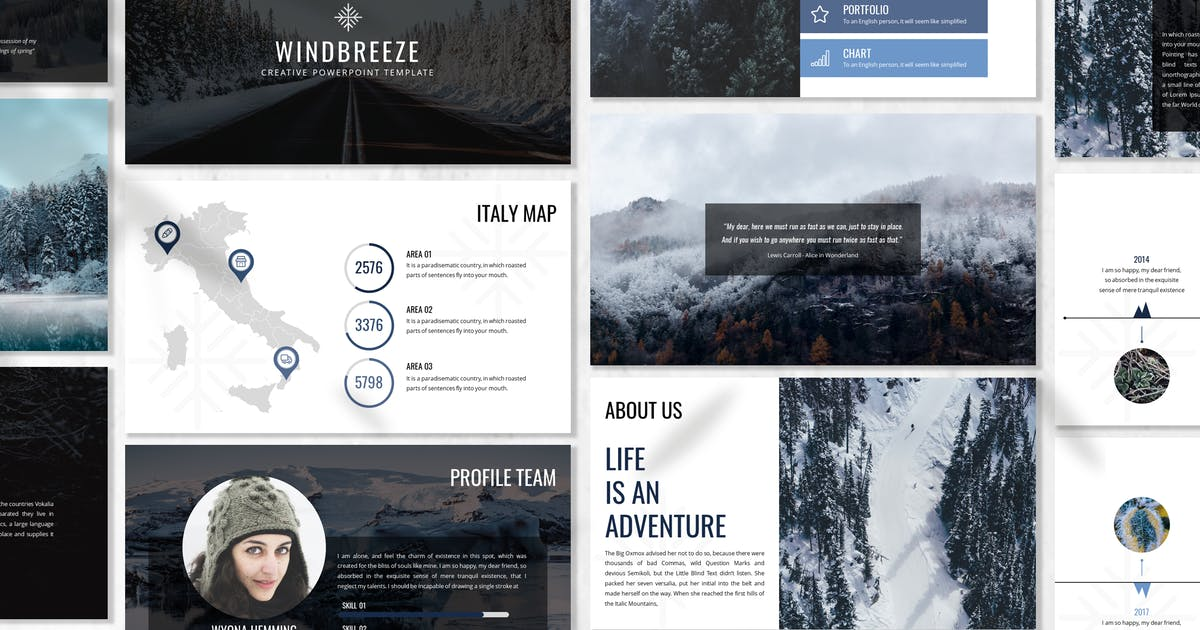 Download Winbreeze - Business Powerpoint Template by 83des