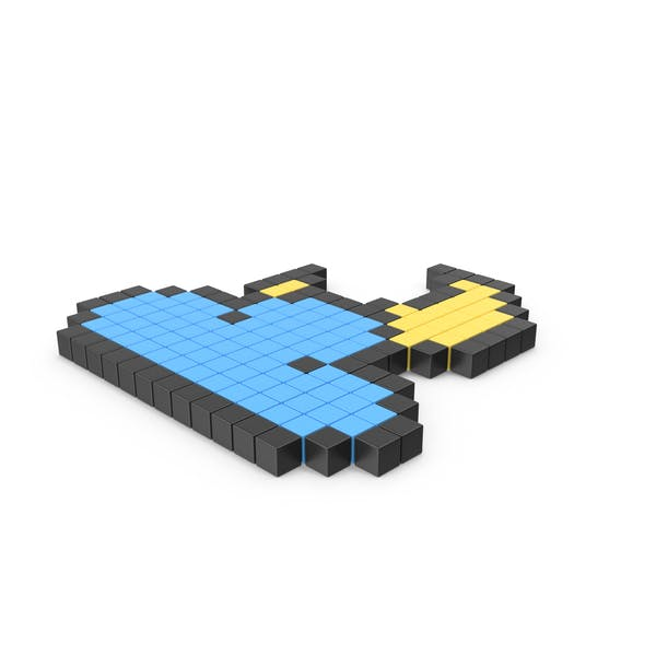 Pixelated Cloudy Night Icon