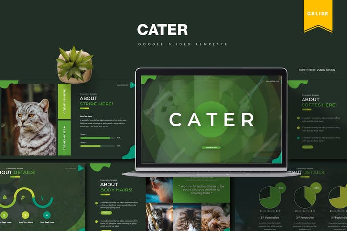 Cater | Google Slides Template