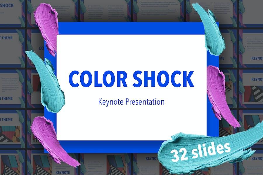 Keynote Vorlage für Farbschock