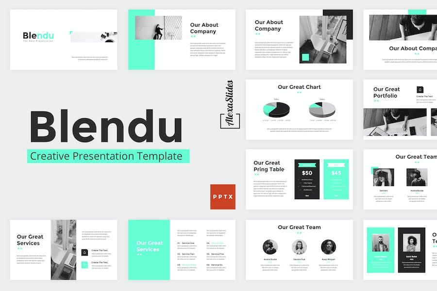 Blendu - Powerpoint Presentation Template