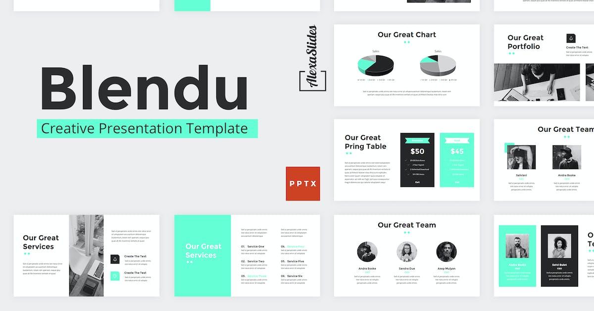 Download Blendu - Powerpoint Presentation Template by alexacrib