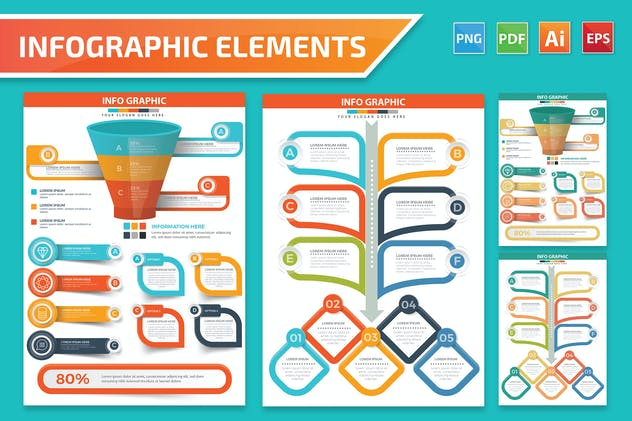 Infographics Element Design - product preview 9