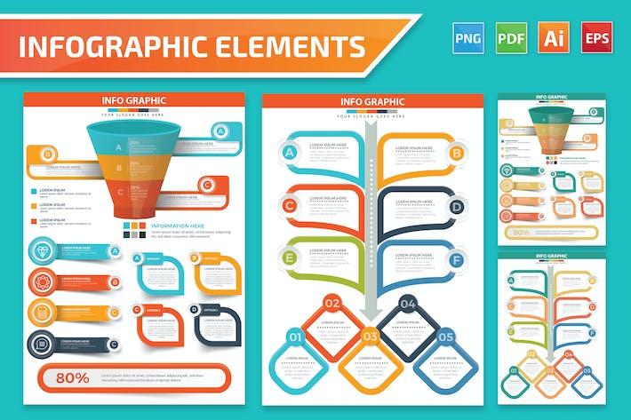 Дизайн элементов Инфографика