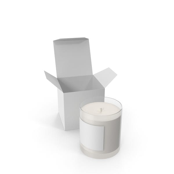 Candles with Box