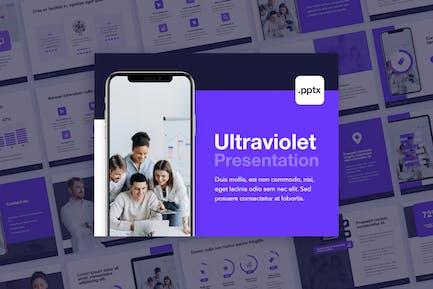 Ultraviolet PowerPoint Theme