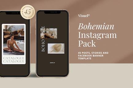 Bohemian - Instagram Pack