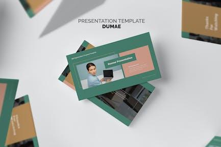 Dumae : SEO Optimization Proposal Keynote