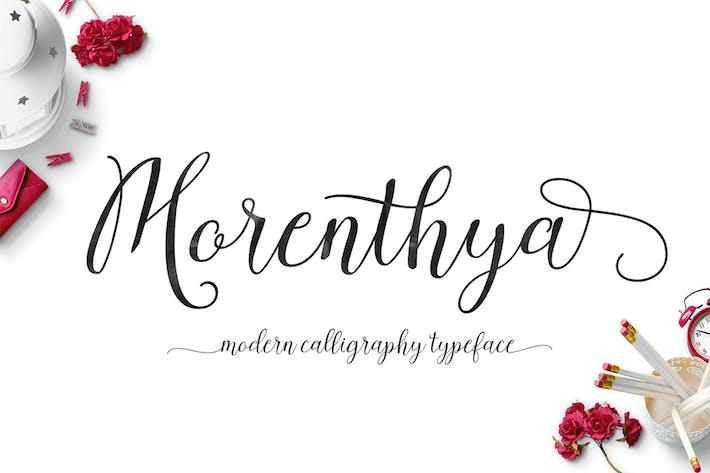 Thumbnail for Morenthya-Schrift