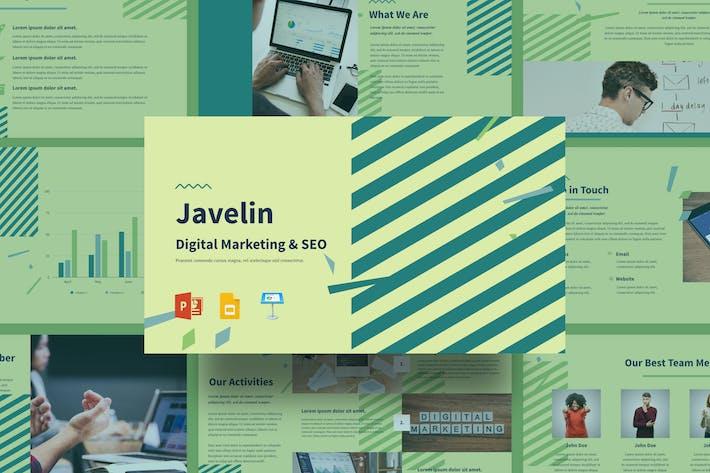 Thumbnail for Javelin - Digital Marketing & SEO Presentation