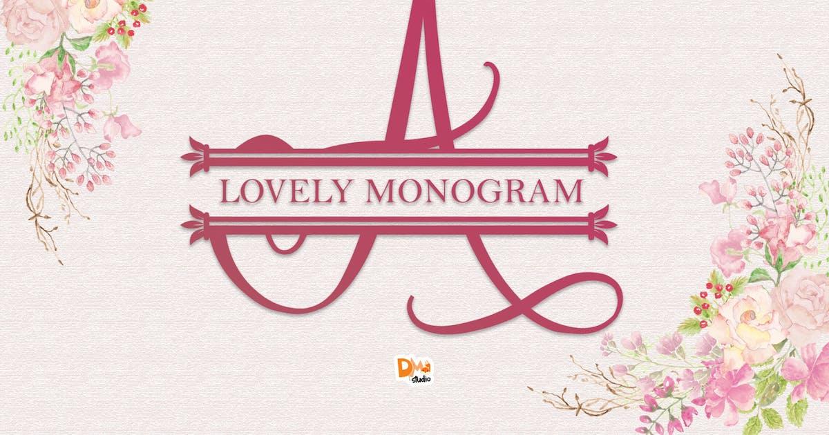 Download Lovely Monogram by DmLetter