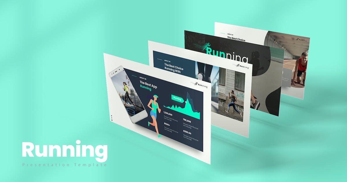 Download Running PowerPoint Presentation by StockShape