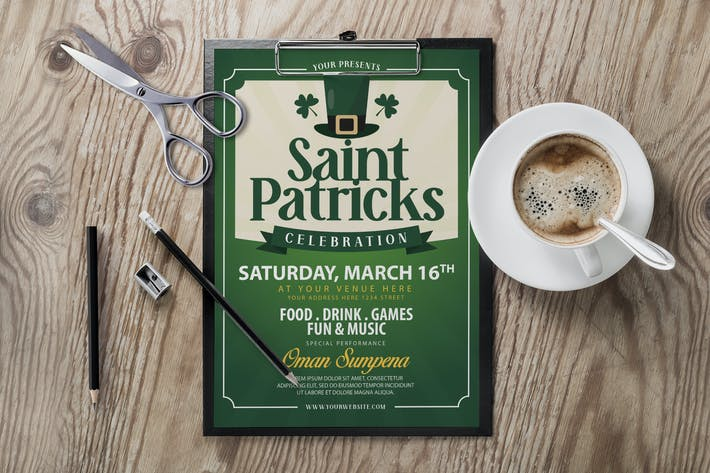 Thumbnail for Saint Patricks Day Flyer